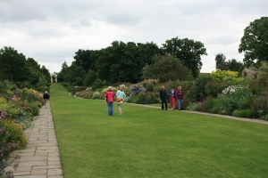 The famous mixed borders at Wisley back in September.